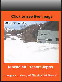 Niseko Ski Resort Japan  Images courtesy of Niseko Ski Resort    Click to see live image