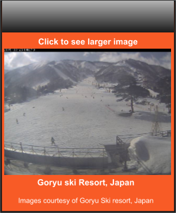 Goryu ski Resort, Japan  Images courtesy of Goryu Ski resort, Japan    Click to see larger image